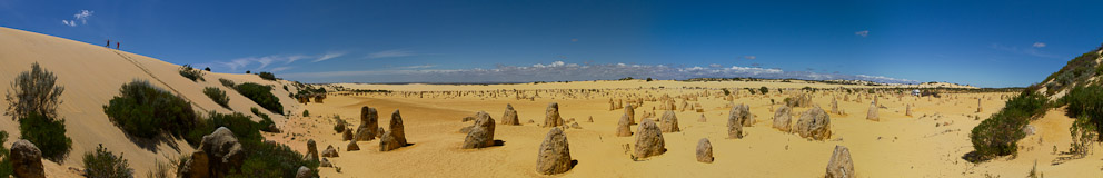 """The Pinnacles"" im Nambung-Nationalpark, Western Australia"