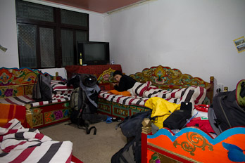 Hostel in Kangding