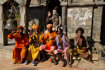 """Moneytation""-Sadhus"