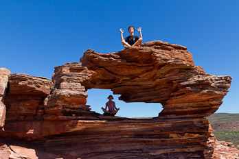 Nature's Window im Kalbarri NP
